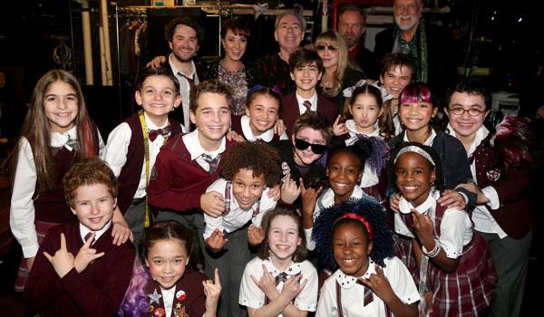 School Of Rock opens at the Winter Garden Theatre on Broadway