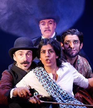 Around The World in 80 Days at St James Theatre.