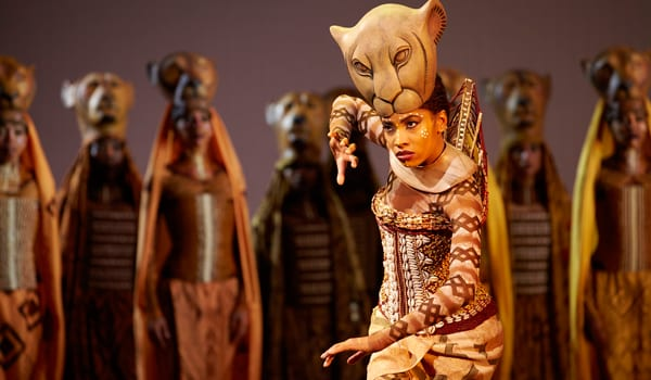 The Lion King at the Lyceum Theatre London. Tickets on sale now