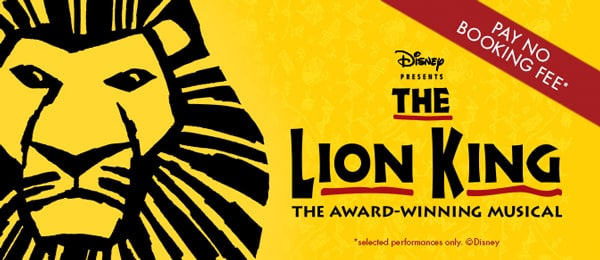 The Lion King Tickets - No Booking Fee