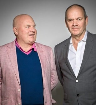 Nick Omerod and Declan Donnellan