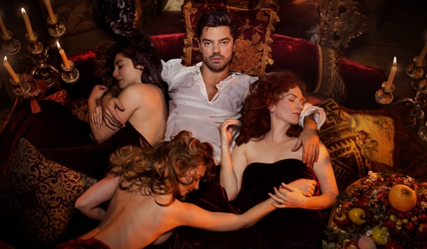 Dominic Cooper in The Libertine at Theatre Royal Haymarket