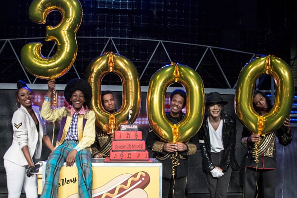 Thriller Live celebrates 3000 performances in the West End