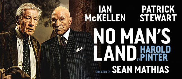 Ian McKellen and Patrick Stewart tour the UK in Harold Pinter's No Man's Land
