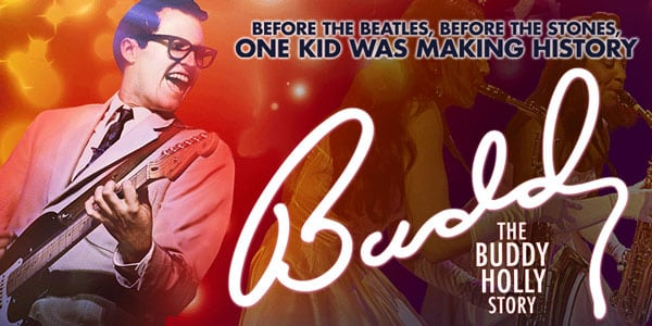 Book now for Buddy the musical UK Tour
