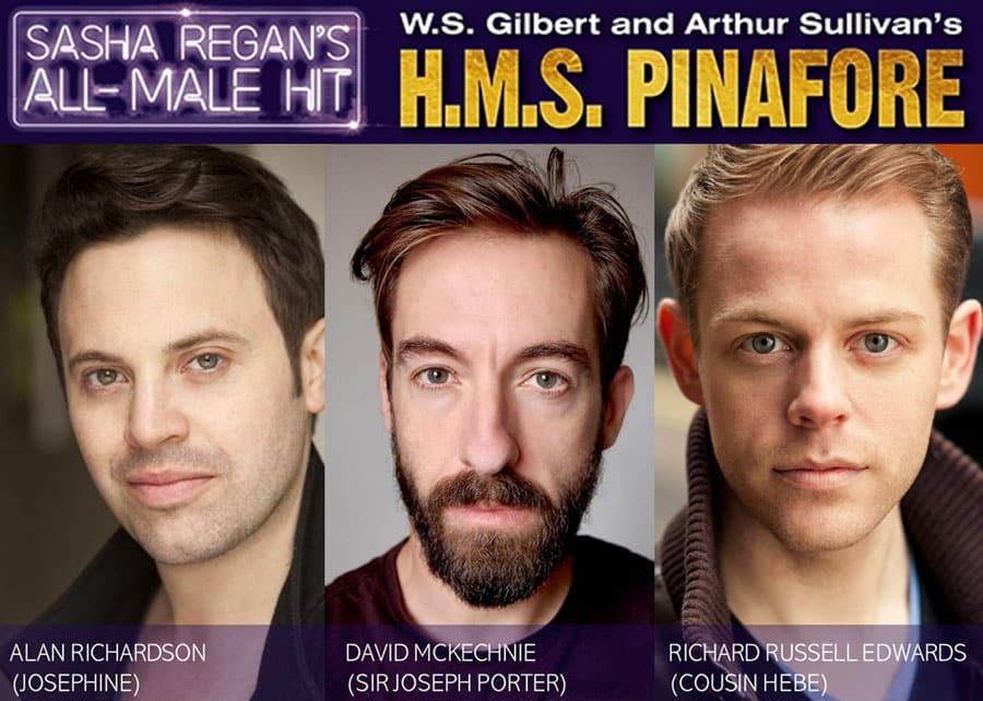 HMS Pinafore Tour 2020 Cast