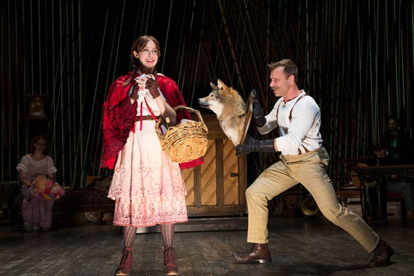 Book Now for Fiasco Theatre's production Of Into The Woods at the Menier Chocolate Factory.