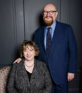 Sir Howard Panter and Rosemary Squire