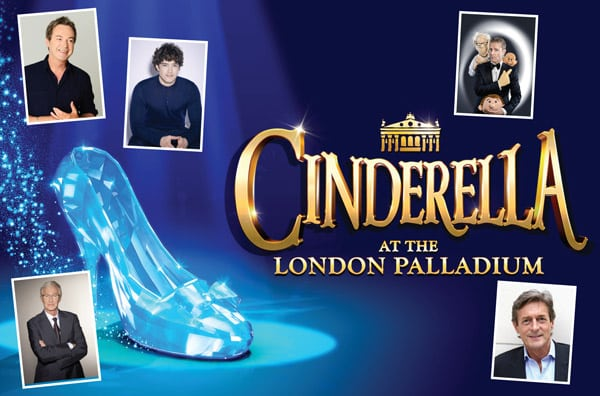 Book now for Cinderella at the London Palladium