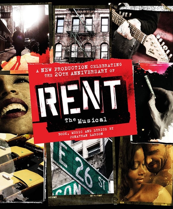 Book tickets for Rent UK Tour