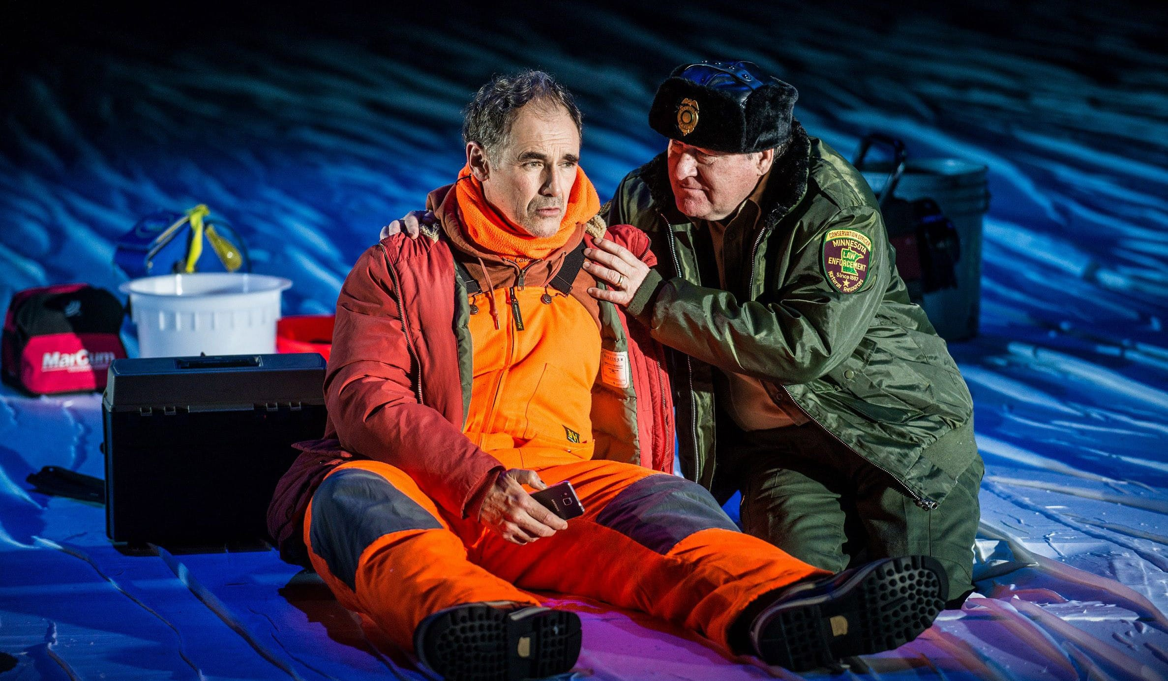 Nice Fish Jim Lichtscheidl and Mark Rylance. Photo Credit Teddy Woolf. jpg