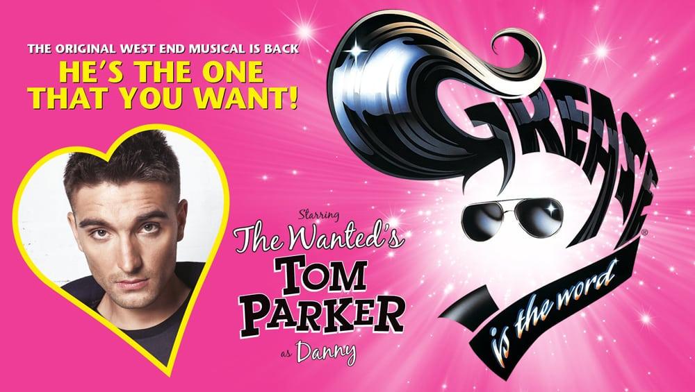 Grease Uk Tour starring Tom Parker