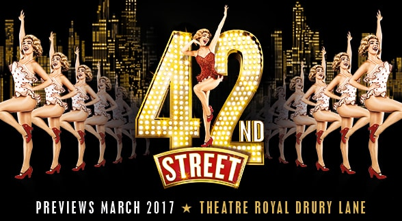 42nd Street returns to the Theatre Royal Drury Lane