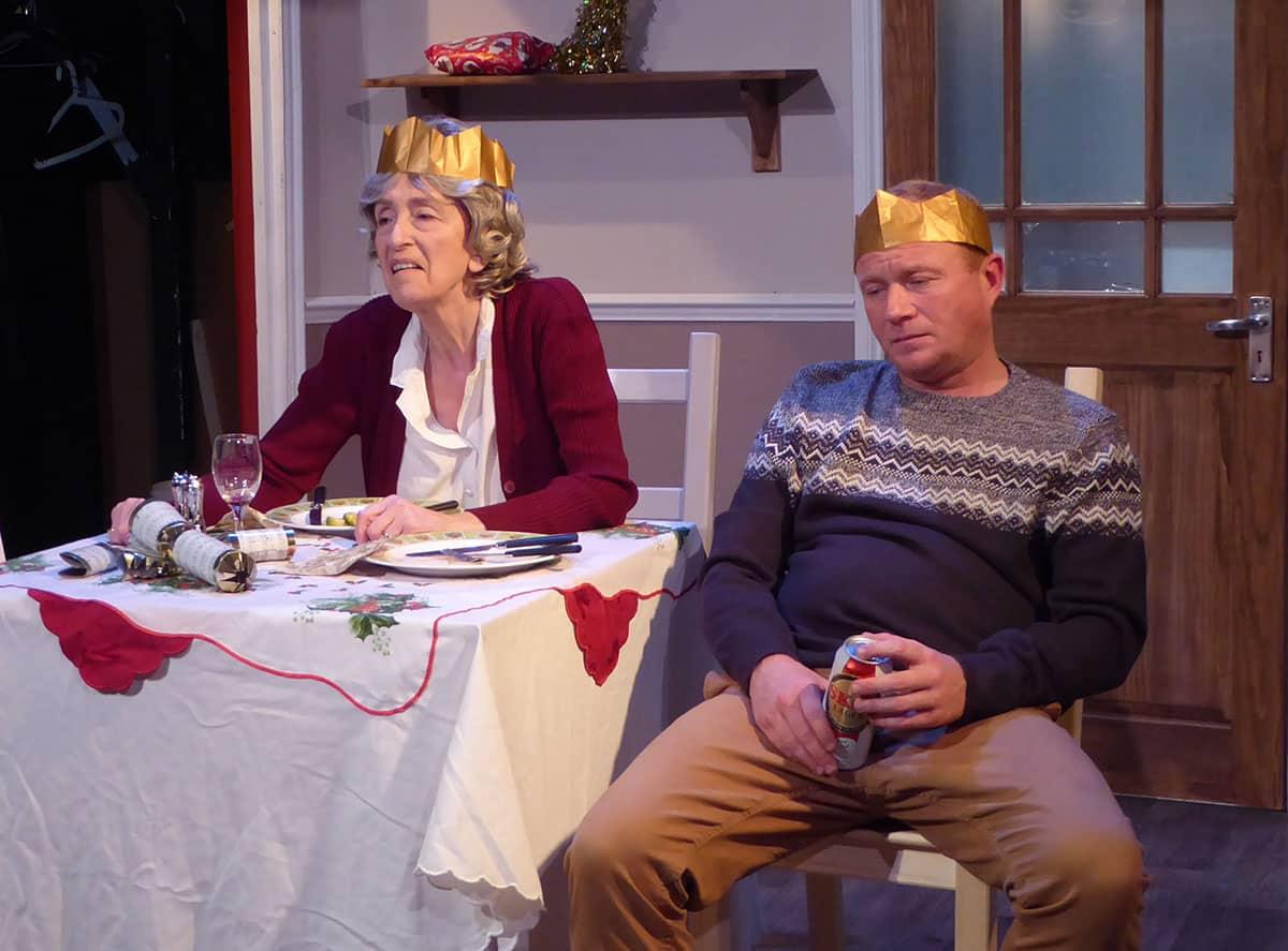 Steven Arnold and Linda Clark in Broken Strings
