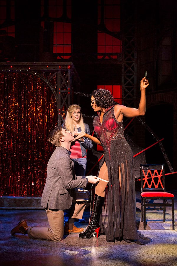 New cast of Kinky Boots at the Adelphi Theatre
