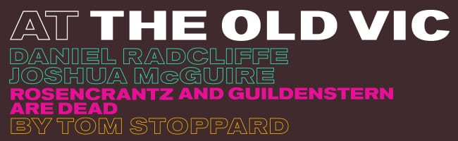 Book tickets for Rosencrantz and Guildenstern at The Old Vic