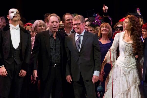 The Phantom Of The Opera London 30th Birthday celebration