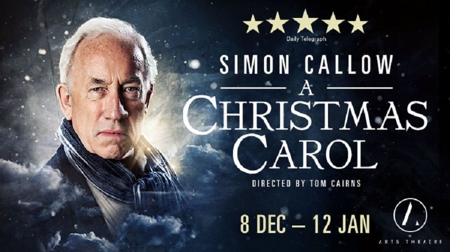 Simon Callow A Christmas Carol Arts Theatre
