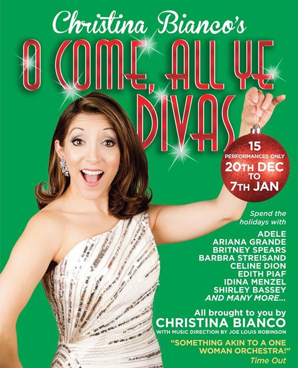 Book tickets for Christina Bianco at Charing Cropss Theatre