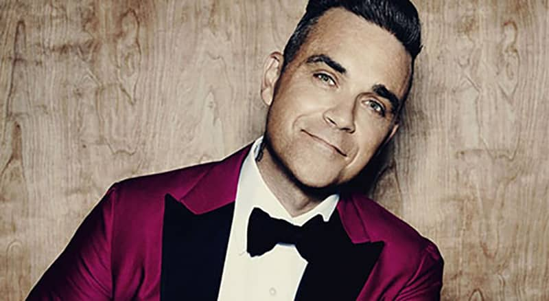 Book tickets for Robbie Williams' Heavy Entertainment Tour