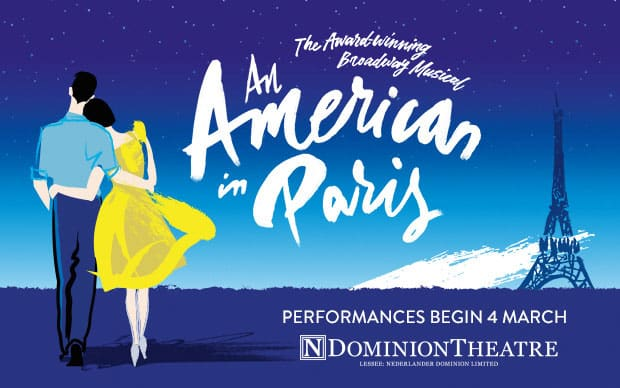 Book tickts for An American In Paris