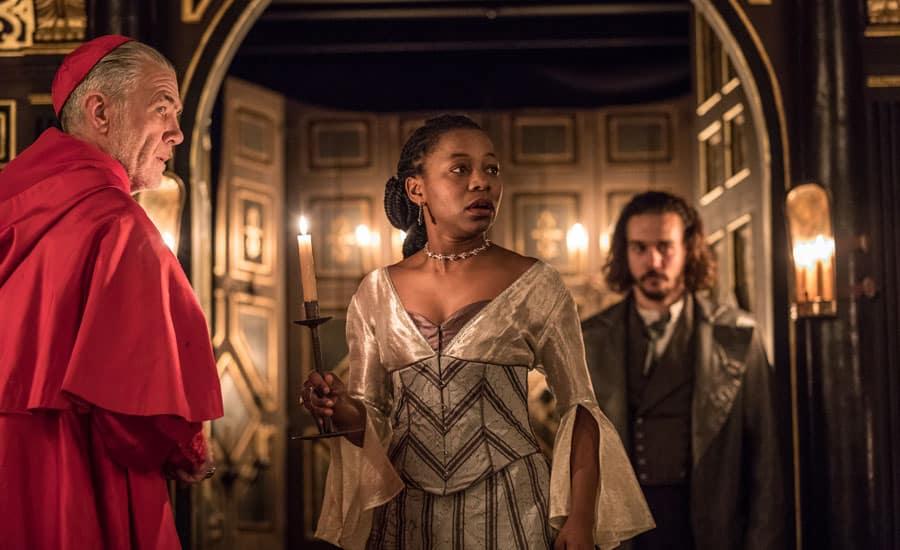 The White Devil at Shakespeare's Gliobe