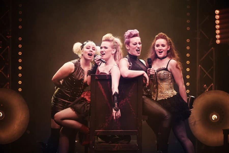 Lizzie the musical review Greemwich Theatre