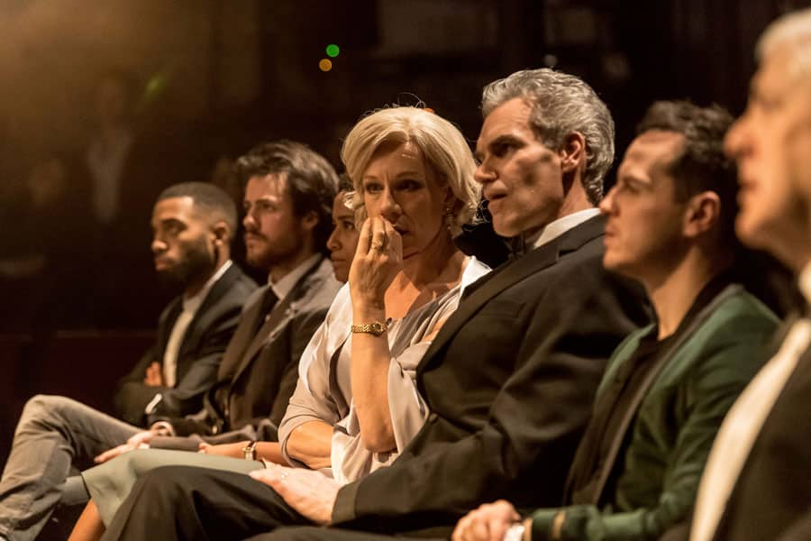 Hamlet at The Almeida Theatre