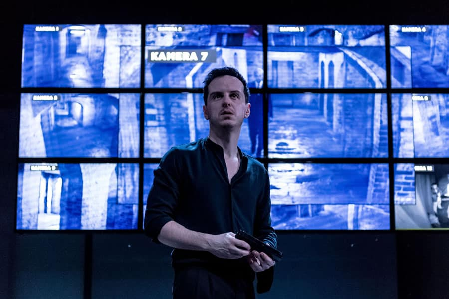 Andrew Scott as Hamlet at The Almeida Theatre