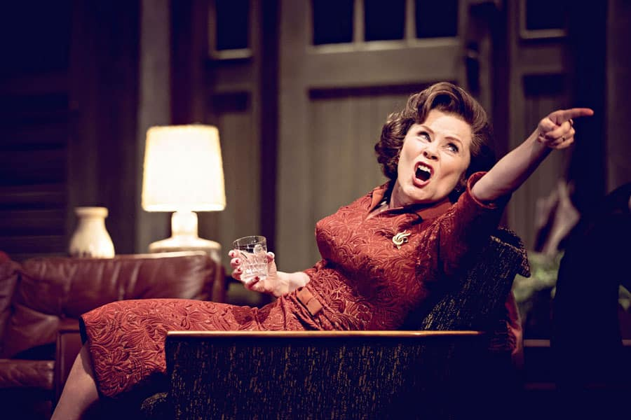 Who's Afraid Of Virginia Woolf starring Imelda Staunton at the Harold Pinter Theatere. Book Now