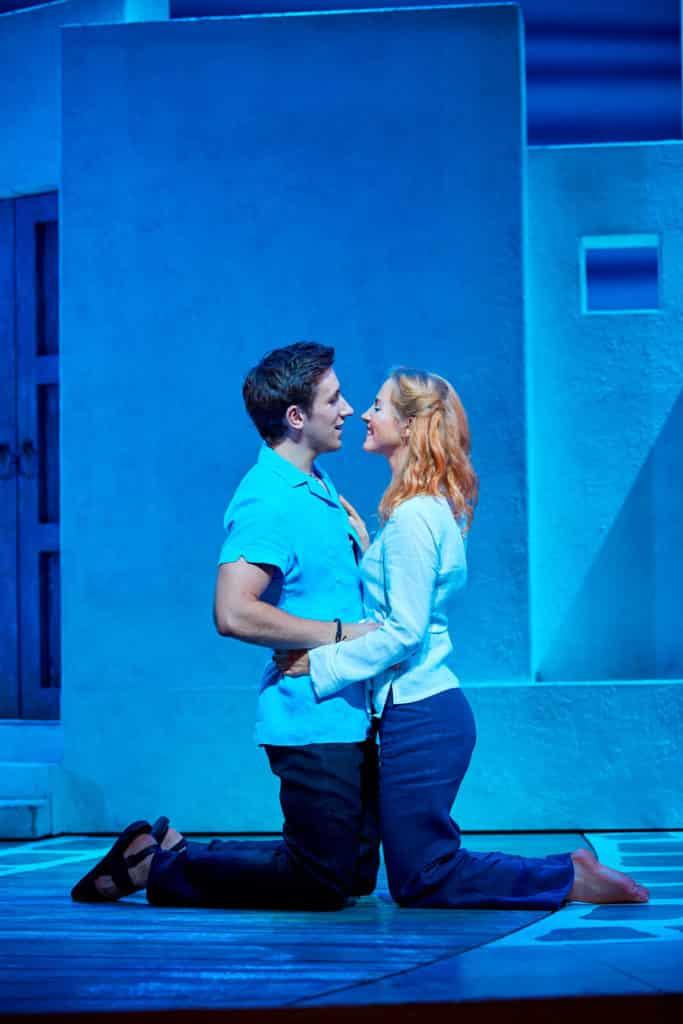 Mamma Mia at the Novello Theatre