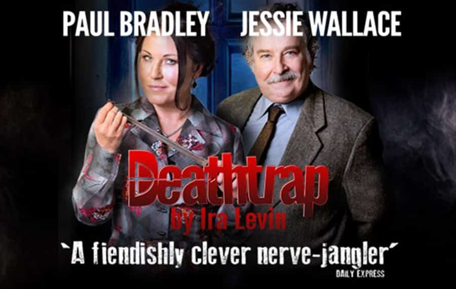 Deathtrap Uk Tour starring Paul Bradley and Jessie Wallace