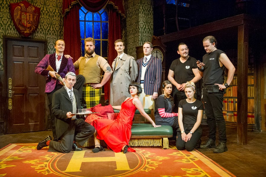 Book now for The Play That Goes Wrong