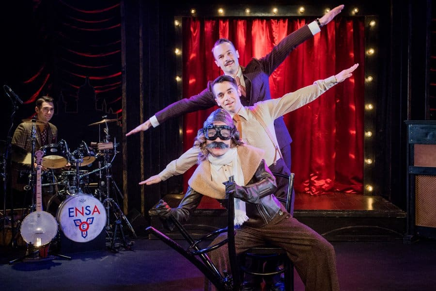 Book tickets for Miss Nightingale at the Vaults