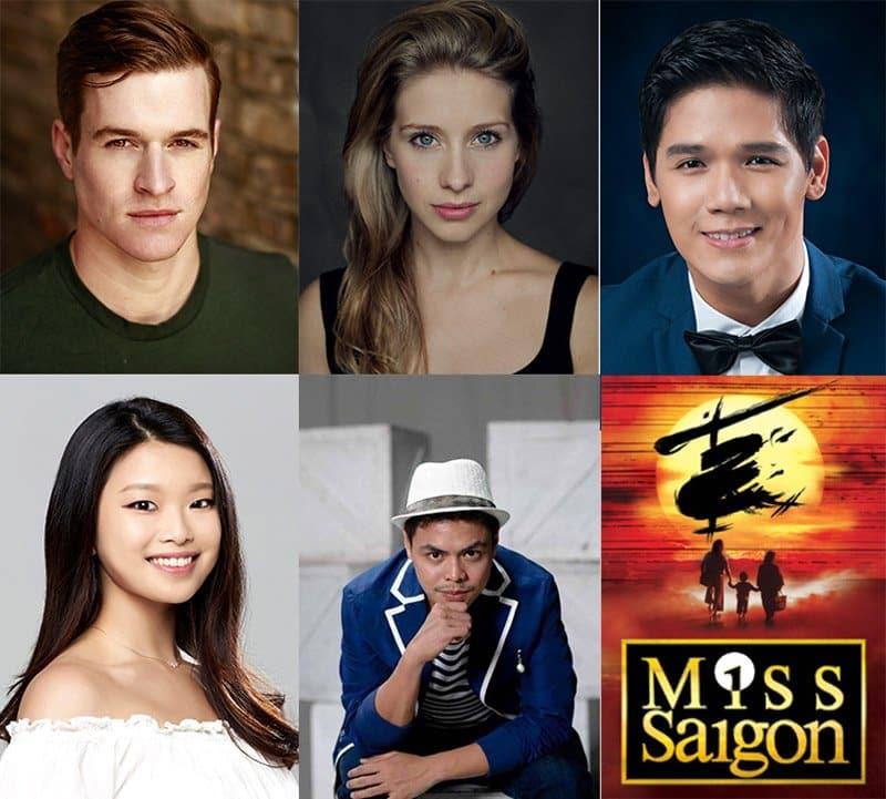 New cast of Miss Saigon UK Tiour announced.