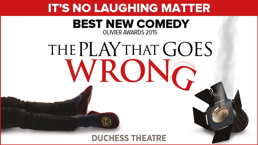 The Play That Goes Wrong gets new cast