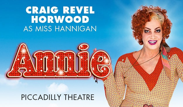 Craig Revel Horwood as Miss Hannigan in Annie