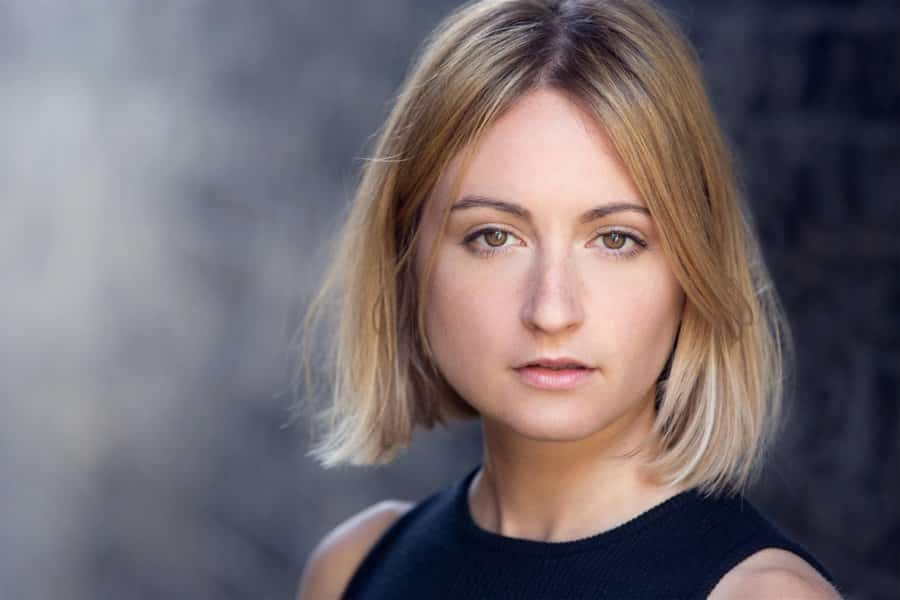 Lizzy Watts plays the title role in Hedda Gabler Uk Tour