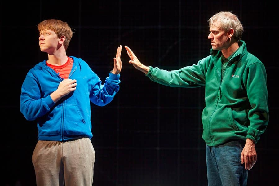 Mike Noble in The Curious Incident Of The Dog In The Night Time
