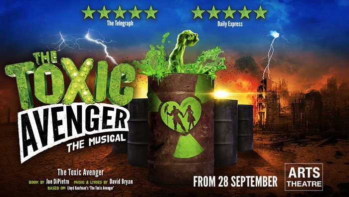 the-toxic-avenger-arts-theatre-tickets