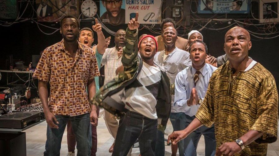The Barbershop Chronicles at the National Theatre