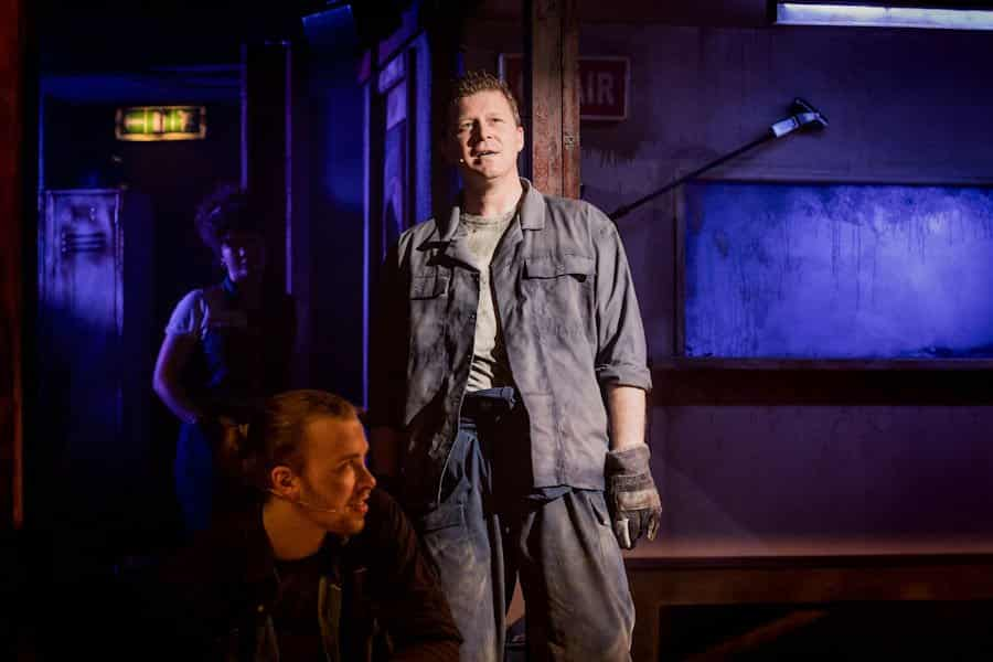 Working the musical at Southwark Playhouse