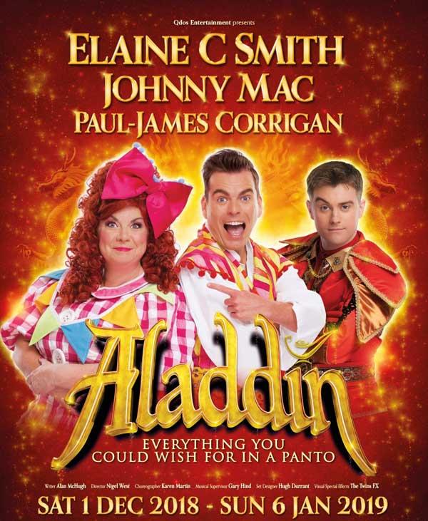Aladdin Pantomime Tickets Glasgow