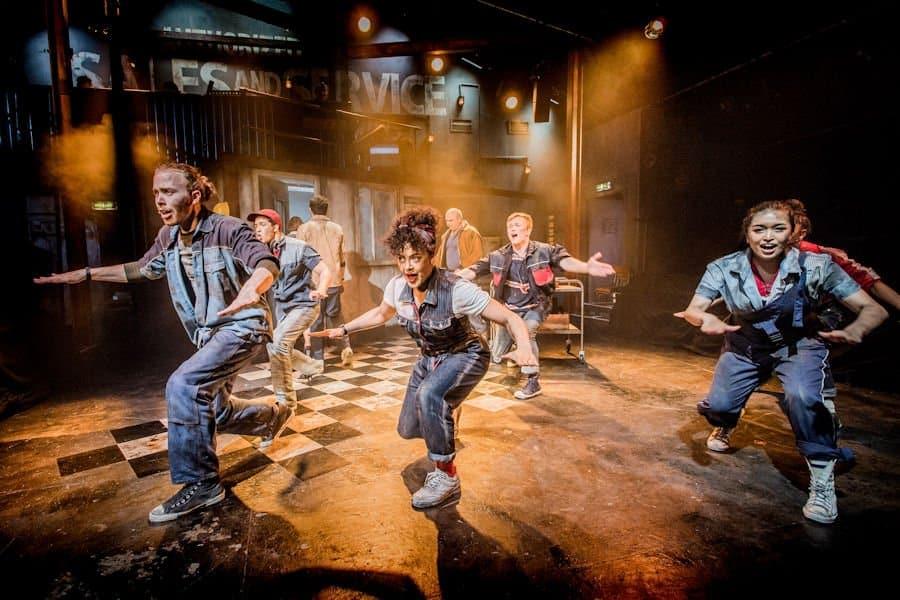 Working at Southwark Playhouse