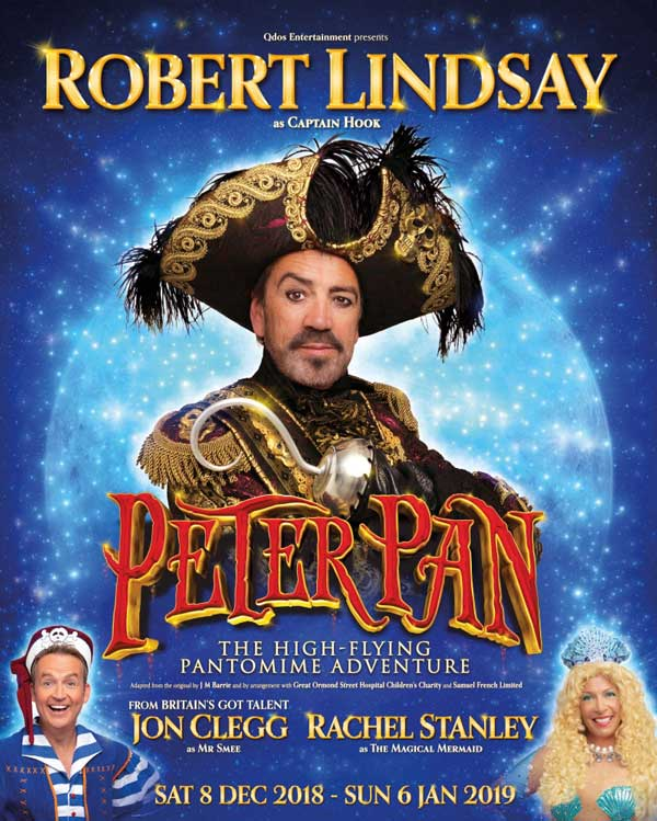 Christmas Panto Peter Pan is in Richmond Theatre