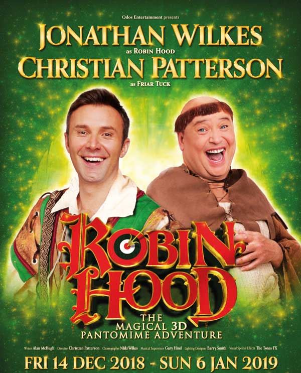 See Robin Hood this Christmas in Stoke