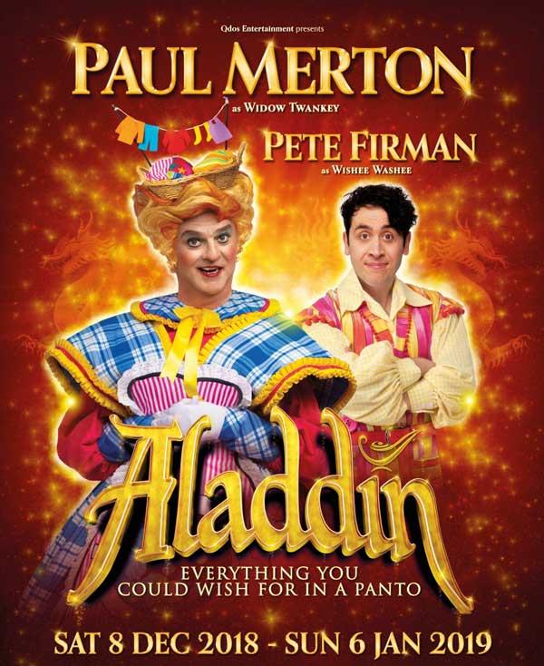 Aladdin Panto comes to Wimbledon this Christmas