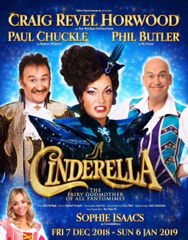 Cinderella Christmas Pantomime comes to Woking
