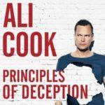 Ali Cook Principles of Deception UK Tour