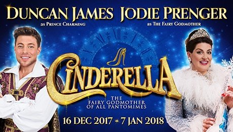 Duncan james and Jodie Prender in Cinderella at Liverpool Empire